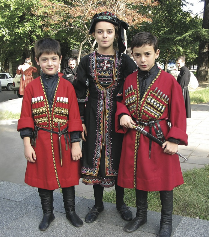 georgian people images - 697×791